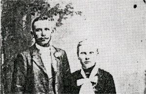Alma och Sven Johan