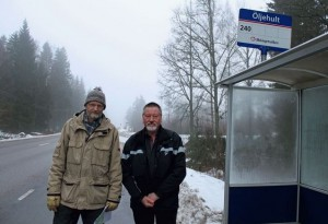 Magnus Olofsson och Tommy Kalmteg