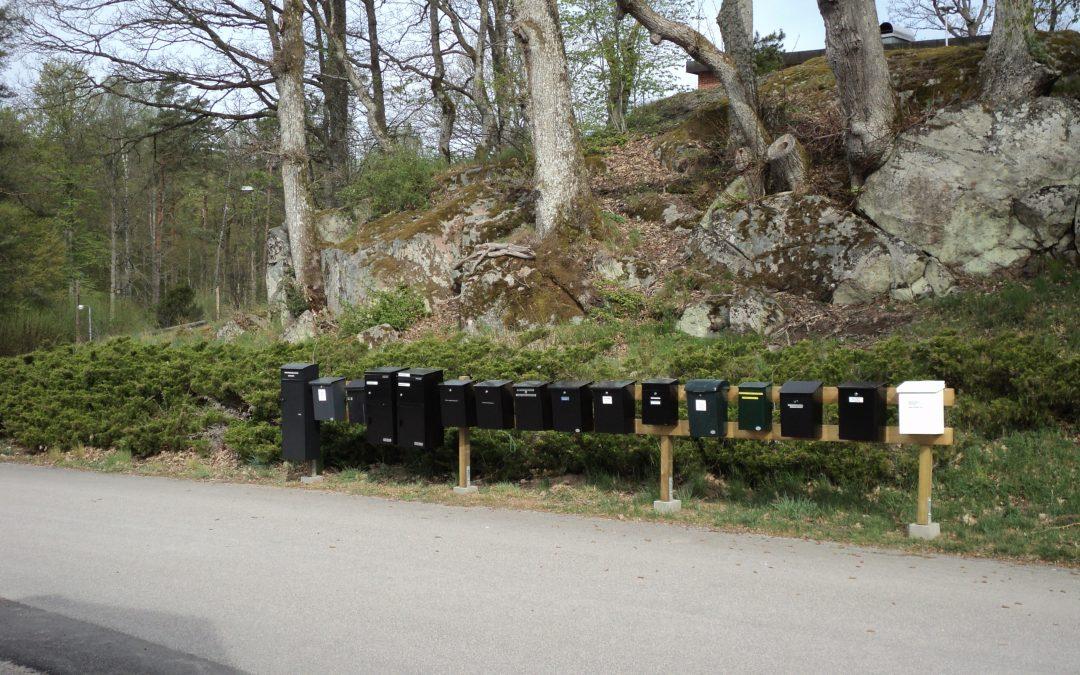 Posthanteringen i Backaryd