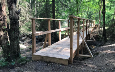RonnebySlingor bygger bro!